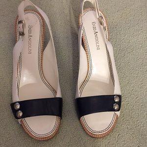 Enzo Angiolini slingback heels